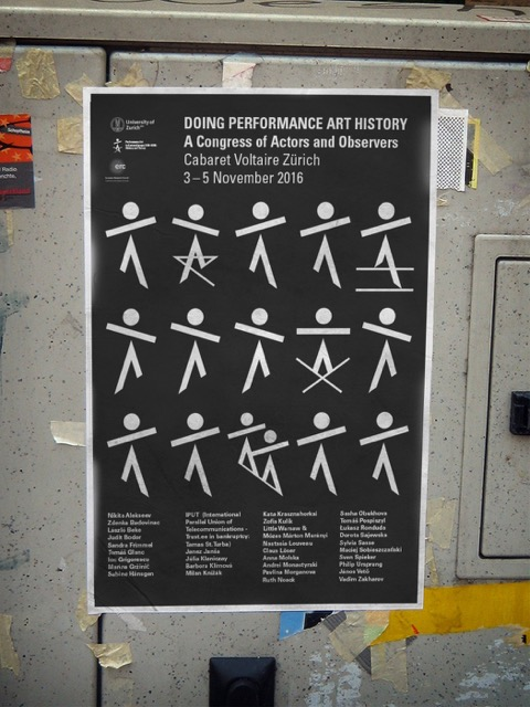 Poster Doing Performance Art Theory
